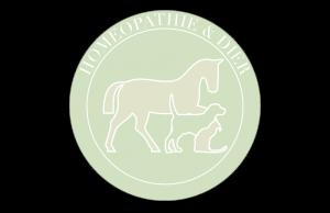 Homeopathie en Dier logo